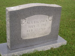 Alice Coats