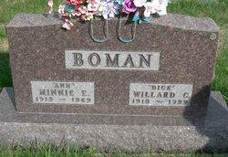 Willard Cortis Dick Boman