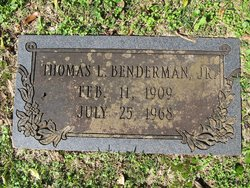 Thomas Luther Benderman, Jr