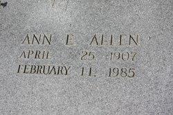 A E Allen