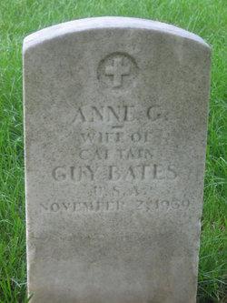 Anne G Bates