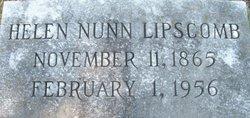 Helen <i>Nunn</i> Lipscomb
