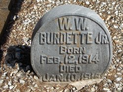 W W Burdette, Jr