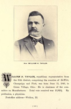 Dr William H. Taylor