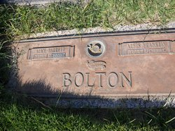 Alice <i>Barrett</i> Bolton