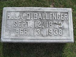 Effie Ella <i>Dill</i> Ballenger