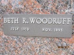 Elizabeth Ruth Beth <i>Goin</i> Woodruff