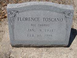 Florence <i>Thomas</i> Toscano
