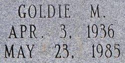 Goldie May <i>Holcomb</i> Barron
