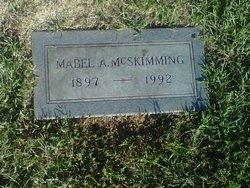 Mabel Frances <i>Anglim</i> Raithel McSkimming