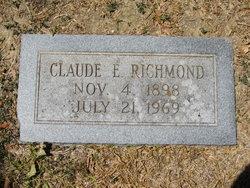 Claude E Richmond