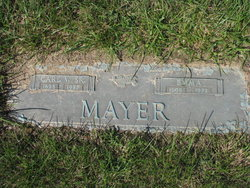 Carl W Mayer, Sr