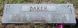 Verdia L. <i>Epton</i> Baker