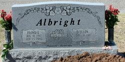 Floyd E Albright