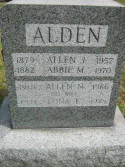 Allen J Alden