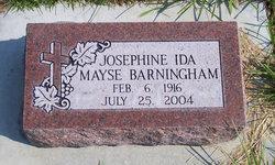 Josephine Ida <i>Mayse</i> Barningham