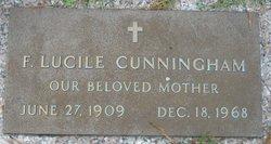 F Lucile Cunningham