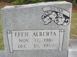 Effie Alberta Abee