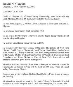 David Noland Cowboy Clayton
