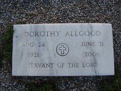 Dorothy <i>Bagwell</i> Allgood