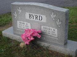Thelma Lorene <i>McGee</i> Byrd