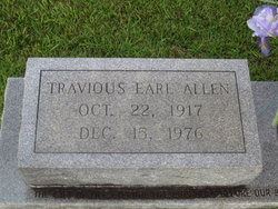 Travious Earl Allen