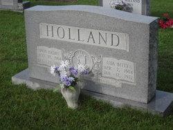 Lida Betty <i>Stephenson</i> Holland