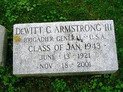 DeWitt Clinton Armstrong, III