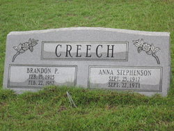 Anna Jane <i>Stephenson</i> Creech