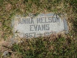 Anna Rebecca <i>Nelson</i> Evans