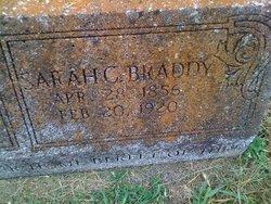 Sarah Catherine <i>Lewis</i> Braddy