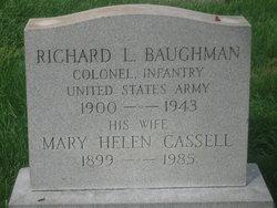Col Richard Longworth Baughman