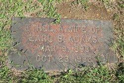 Ethel A Adams