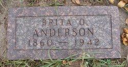 Brita <i>Olson</i> Anderson
