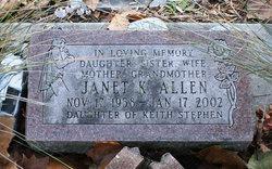 Janet Kay <i>Stephen</i> Allen