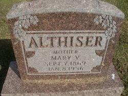 Mary Virginia <i>Lawrence</i> Althiser