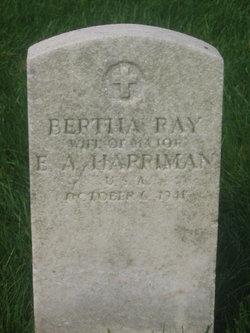 Bertha Ray Harriman
