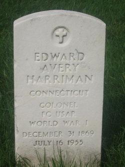 Edward Avery Harriman