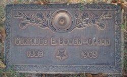 Emma Gertrude <i>Moorehead</i> Bowen-Opran