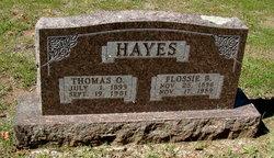 Flossie B Hayes