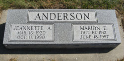 Jeanette A. Anderson