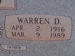 Warren D. Agnew