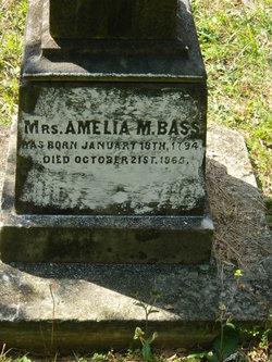 Amelia M. <i>Love</i> Bass