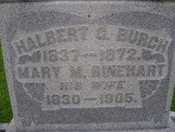 Mary M. <i>Rinehart</i> Burch