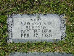 Margaret Ann Bledsoe