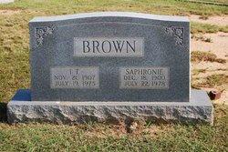 Emma Sophronia Sophronie <i>Oglesby</i> Brown