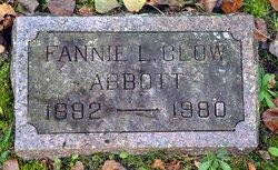 Fannie. L. <i>Clow</i> Abbott