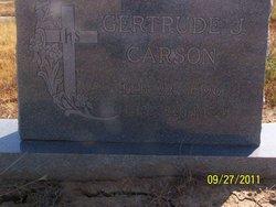 Gertrude Eunice <i>Jemison</i> Carson
