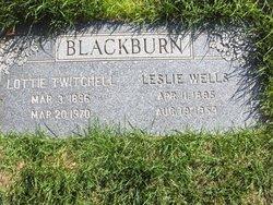 Leslie Wells Blackburn