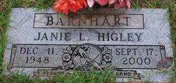 Janie L. <i>Higley</i> Barnhart